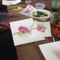 Natural Painting from Flowers
