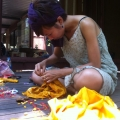 Natural Dyeing from Flowers