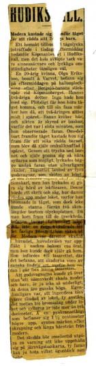 Olga-Eriksson-newspaper1927